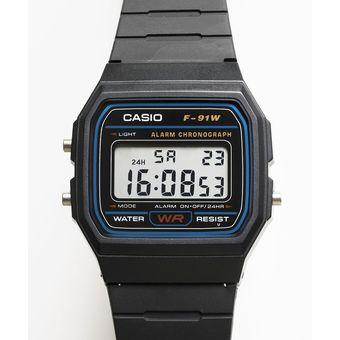 b74406aaa2b7 Compra Reloj Casio F-91W Digital Unisex Negro Original online ...