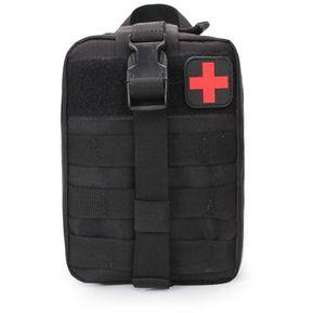 e17ae860b Viajes Al Aire Libre Portable Kit De Primeros Auxilios (negro)