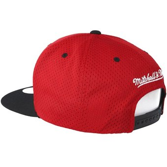 Mitchell And Ness - Gorra Para Hombre NBA Chicago Bulls snapback - Rojo 0a160a64df3