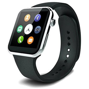 4845b8a03 Agotado Smartwatch A9 Bluetooth Reloj Inteligente Para IPhone Android -Plata