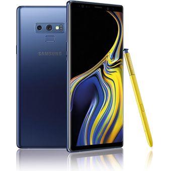 Celular Samsung Galaxy Note 9 512GB + 6GB RAM 12.2+12+8Mpx OCEAN BLUE