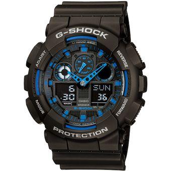 Agotado Reloj Analógico Digital Casio G-Shock GA-100-1A2 para Hombre-Negro f0395ff0d080