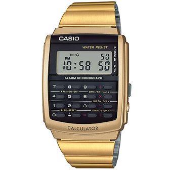 c281ad8f92f5 Agotado Reloj CASIO VINTAGE CA-506G-9AVT CasioVINTAGE Collection Digital  Calculadora-Dorado Negro