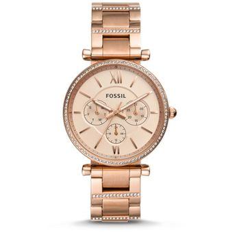 cfb32846b007 Compra Reloj Carlie Fossil MODELO ES4542 Dorado online