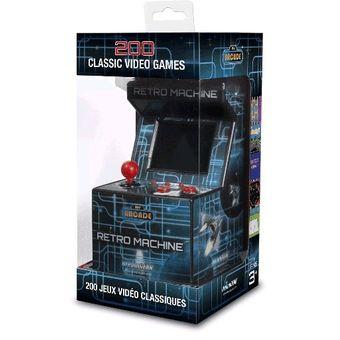 Micro Arcade Retro Kanji Micro Fichines-Negro