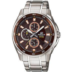 0748389301e2 Reloj CASIO-EDIFICE EF-334D-5AV Plateado Masculino
