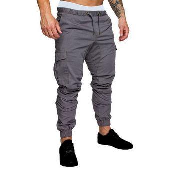 Modernos Pantalones Multibolsillos Para Hombre Pantalones Elasticos De Cintura Alta Pantalones Mis Linio Peru Un055fa0f349flpe