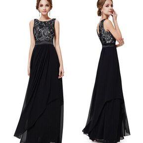 9f78d53ba Mujer Vestido De Noche Para Fiestas Fashion-Cool-Negro