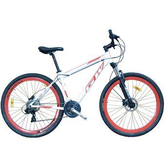 9d31cf1a202 Bicicleta De Montaña GW Scorpion 29 Shimano F.Hidraulico Blanco Rojo
