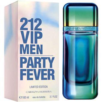 275b8fde3 Compra Perfume Carolina Herrera 212 Vip Men Party Fever 2.7 Floz ...