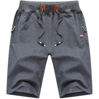Pantalones Cortos De Algodon De Los Hombres De Verano Playa Hombre Shorts Casuales Hombres Solido Cortos Alta Calidad Elastica De Moda Corto Hombres S 5xl 1012 Azul Linio Peru Un055fa0aly33lpe