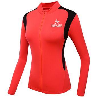 Transpirable Ciclismo Ropa De Mujeres Ropa Del Equipo Deporte Jersey  Respirables Manga Corta Un Treje Roja 5c3ed5dabf1a7