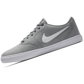 ef3d9bb58de Agotado Zapatilla Nike SB Check Solar Cnvs Para Hombre - Plomo