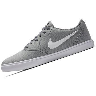 ba59325ca3 Compra Zapatilla Nike SB Check Solar Cnvs Para Hombre - Plomo online ...