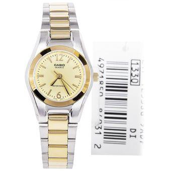 649f1f39a7db Compra Reloj Casio LTP-1253SG-9A En Acero Para Mujer- Dorado Y ...