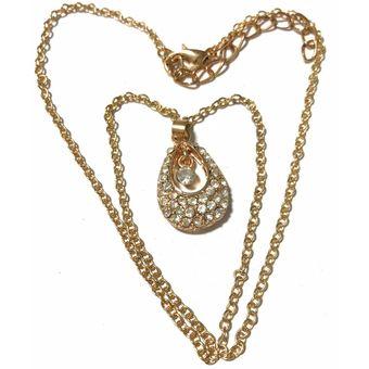 d1ad3588040f Compra Collar Mujer Kast Store Strass - Dorado Crystal online ...