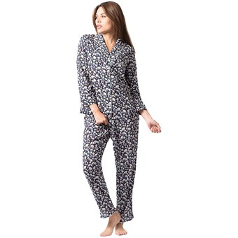 6b2343f5bd Compra Conjunto Pijama Mujer Noite Algodón Tulipanes online