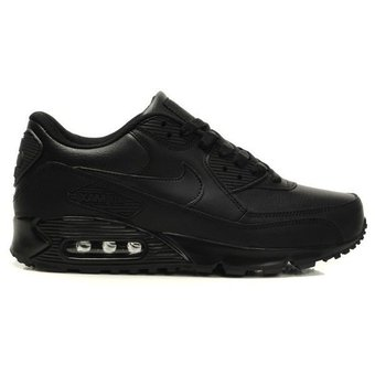 Compra Zapatos Running Hombre Nike Air Max 90 Leather-Negro online ...