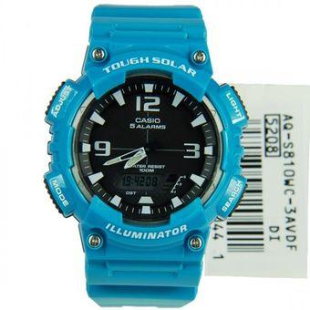 f2f48d393c18 Compra Reloj CASIO Hombre AQ-S810WC-3A Energia Solar - Azul online ...