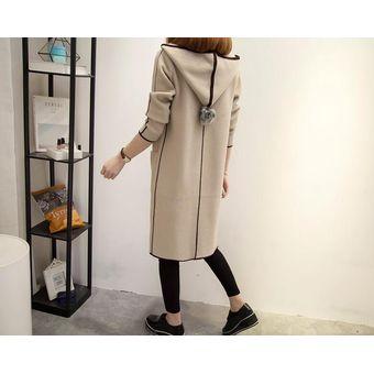 fd1ea91fef9 Mujer gabardina larga Mujer Trench Coat Plus Size Cazadora mujer abrigos