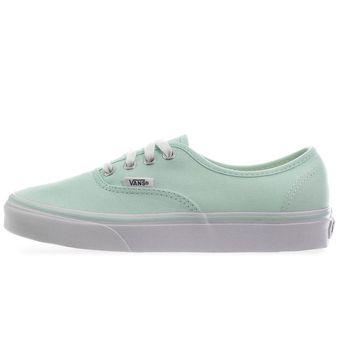 6e6778a6e7492 Compra Tenis Vans Authentic - 38EMMQV - Verde Pastel - Mujer online ...