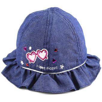 Compra Gorro Ficcus Niña Kisses Azul online  fc20adbf2fd