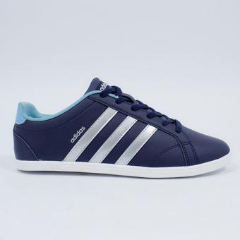 c9385e3b60059 Compra Tenis Para Mujer Adidas Aw4755 Coneo Qt - Azul Oscuro online ...