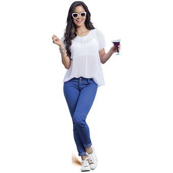 8031362e4f061 Compra Blusa Juvenil Para Mujer Marketing Personal 91067 Blanco ...