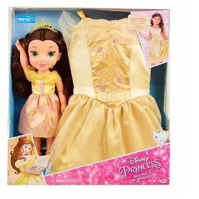 Princesa Bella + Vestido Niña De 4 A 6 Años Bella Y Bestia 02b11912aec2