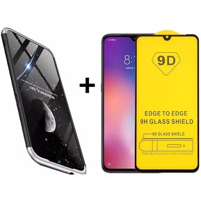 7f6c9b66934 Estuche Protector 360° Xiaomi Redmi Note 7 Pro + Vidrio 6d blanco