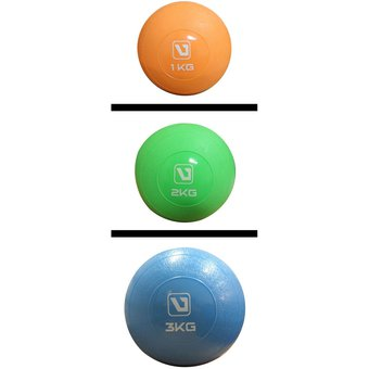 Compra Live Up - Bola De Peso Suave 1kg Soft Ball- Naranja online ... 664620f2ba0f