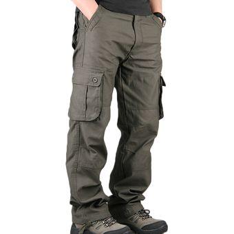 Outwear Casuales Pantalones Rectos Pantalones Largos Pantalones Hombre 443a1e275da