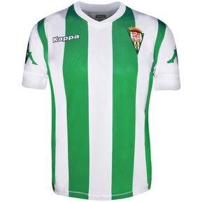 11608245486c1 Playera Jersey Futbol Caballero M. Corta Cordoba Local Kappa
