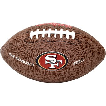 Compra Balón Mini NFL Team 49ers San Francisco PVC Wilson online ... 5a592fba5b202