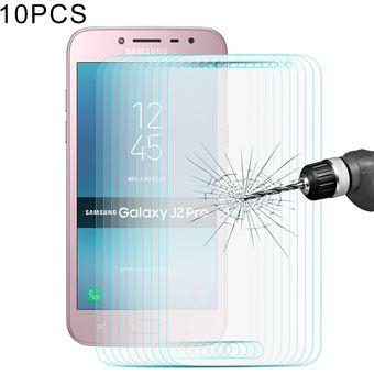 19894ead71a 10 Pcs Enkay Hat Príncipe Para Samsung Galaxy J2 PRO (2018) 0.26mm 9h