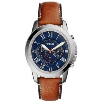 268a5e57ea12 Compra Reloj Fossil FS5210IE Cafe Hombre Cuero online