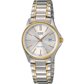 cc6cb2bcc2af Compra Reloj Casio LTP-1183G-7A-Plateado Con Dorado online