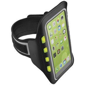 7e773f2d57b Soporte Porta Smartphone Luz Led Brazo Celular Sport Steren