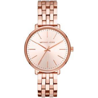 2391b80bb3 Reloj Michael Kors Pyper Mk3897 para Mujer-Oro Rosa Linio Colombia ...