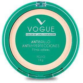 Polvo Compacto Antibrillo Tono Translucido Vogue 911b5d253a