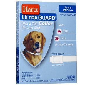 5f3e83fd0042 Collar Antipulgas 2 en 1 Hartz para Perros Grandes-Blanco