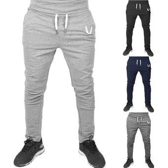Casuales Para Hombre Del Ocio Con Cordon Delgado Deporte Pantalones Pretina Elastico Pantalones Negro Linio Peru Ge582sp0w7u8tlpe
