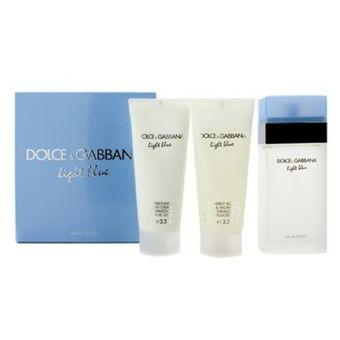 Perfume 100 Ml Gabbana Light Dama X 3 Set Blue Dolceamp; XuTOkiwPZ