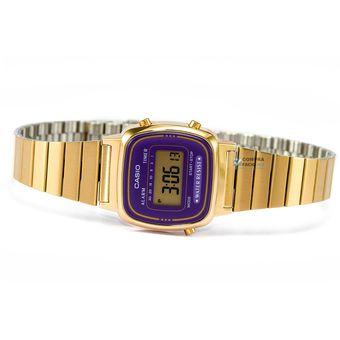 15907cab421f Compra Reloj Dama Casio Vintage LA670WG Morado online