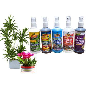 Kit Para Cuidado De Plantas 5 Productos Insecticida Fungicida Y Más Linio México Vi416hl0z3yyqlmx