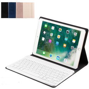 68a70d9a6db Funda de cuero con teclado Bluetooth para iPad Air / Air2 / pro9.7 /