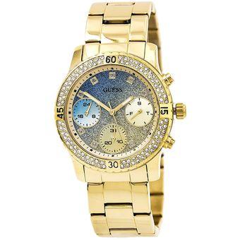 Reloj guess de dama dorado original