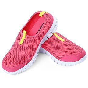 8e8422d16ca56 Mujer Respirable Del Verano De Malla De Nido De Abeja Super Light Zapatos  Corrientes De Las
