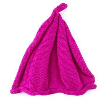 Compra Gorro de punto de lana unisex de moda Twisted Child (Rojo ... 140854c2f04