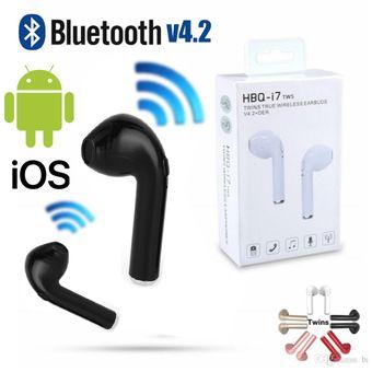 4bec67b93ca Agotado Audifonos Bluetooth Inalambrico I7 Tws tipo airpods p/ Android  Iphone